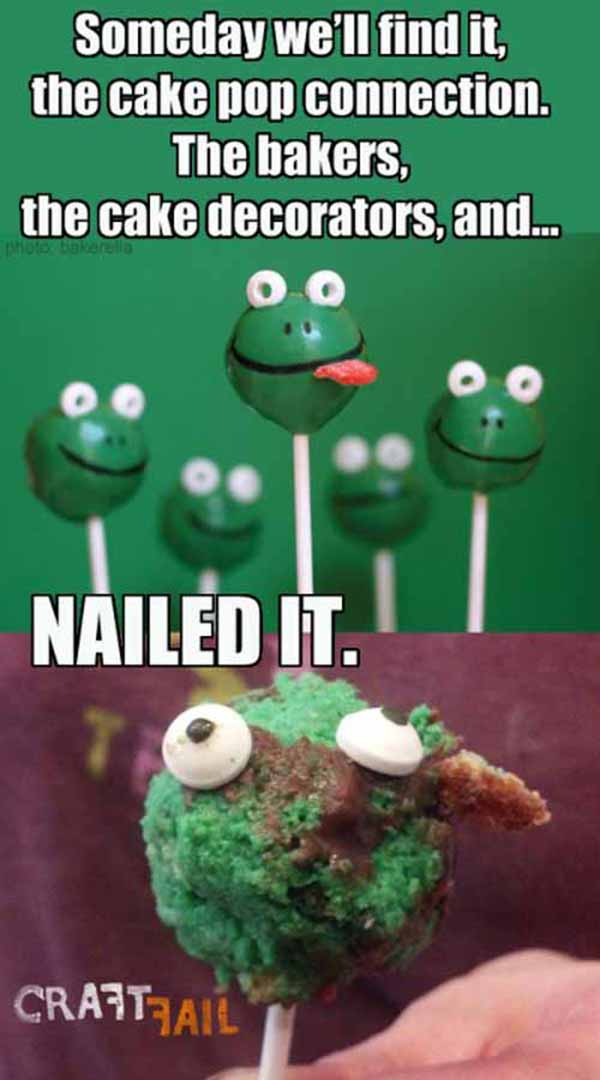 Nailed It Pinterest Baking 101 Wallshit