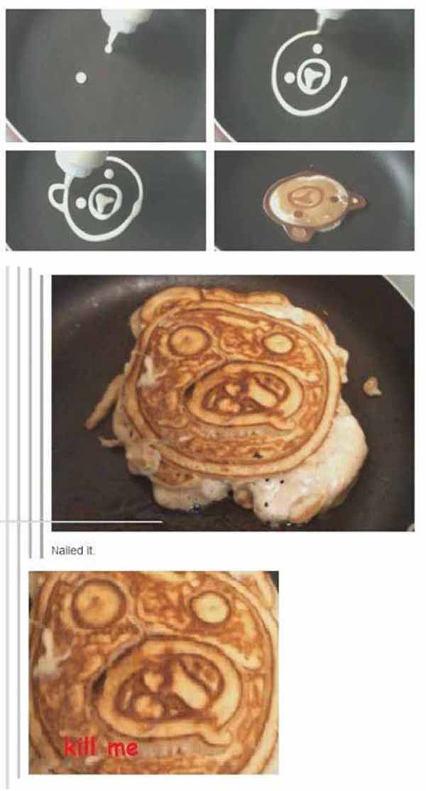 pancake nailed it