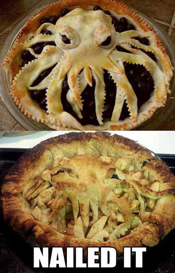 pie nailed it