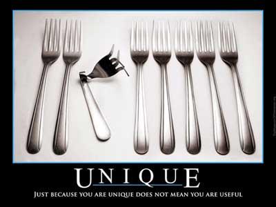 unique fork