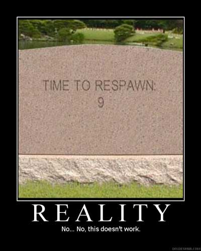 time to respawn