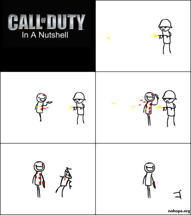 call of duty sucks knife