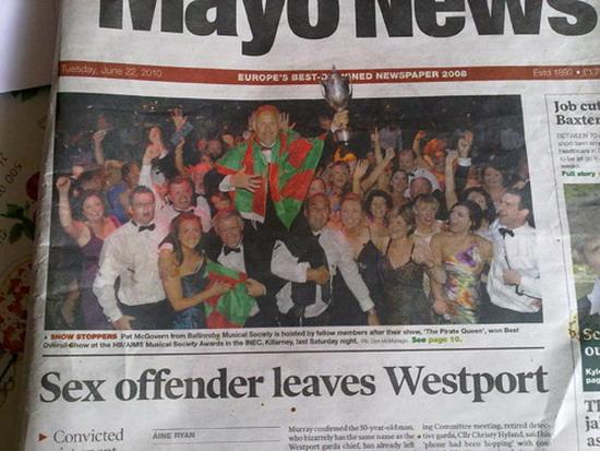sex offender leaves westport