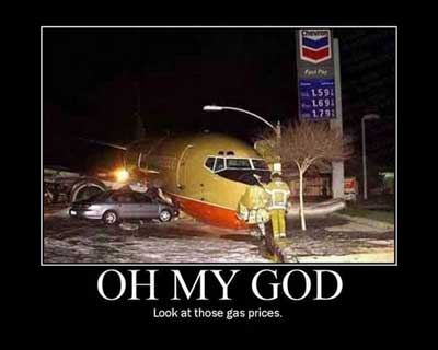 airplane gas prices