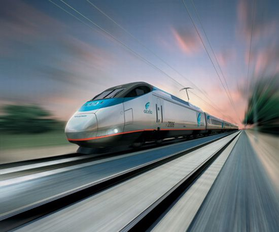 future high speed bullet train