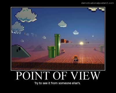 mario brothers point of view