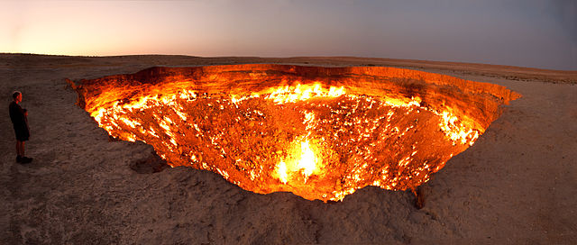 darvasa fire crater