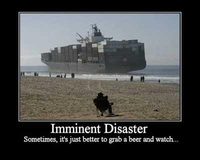 ship beached fail