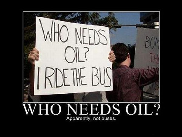 who needs oil