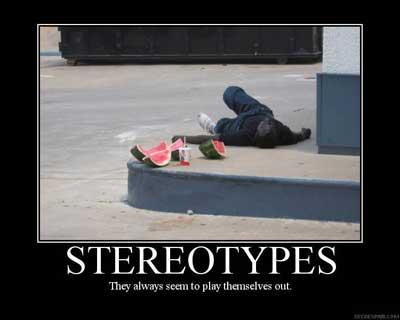stereotypes black people
