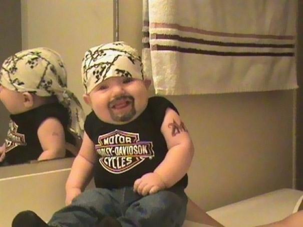 baby goatee halloween costume