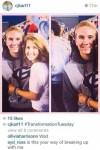 breakup through instagram
