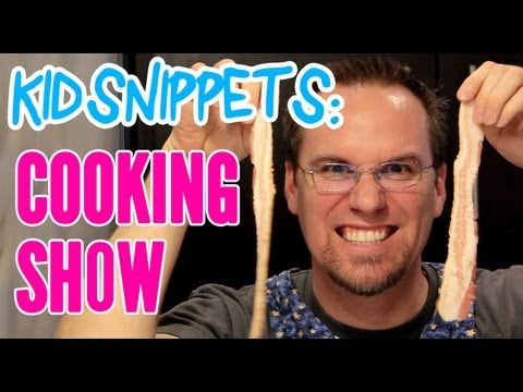 kid snippets cooking show adults