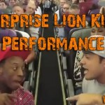 lion king on plane