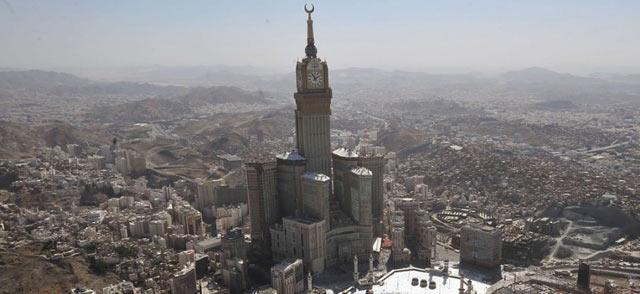 mecca clocktower