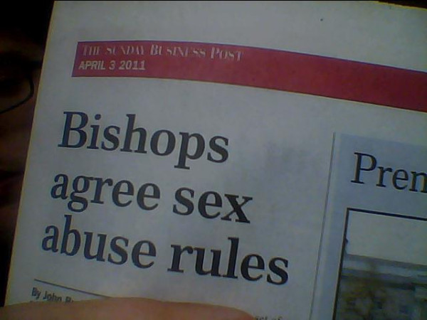 bishop agrees sex abuse rules