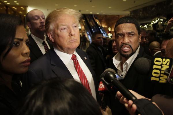 trump and black people