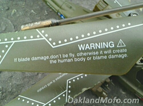 helicopter blades lost in translation